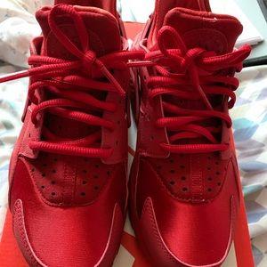 Nike Huarache Run Gym Red
